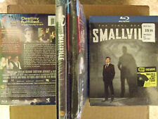 Best Buy Exclusive Smallville The Final Tenth Season Blu-ray with T-Shirt Rare
