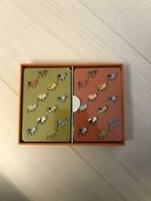 Auth Hermes Horse Pattern Trump Playing Card Game New Unused