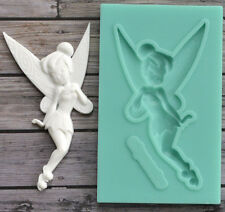 3D Fairy Figure Silicone Fondant Chocolate Cake Decor Sugarcraft Baking Mould