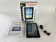 "Rare Sylvania Android MAGNI Tablet 10"" SYTAB10ST 4GB Black"
