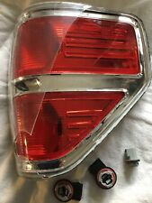 2009-2014 Ford F-150 Truck Chrome Trim Tail Light Brake Lamp RH Side For Parts