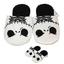 Nice Gift Nightmare Before Christmas Jack Skellington Soft Adults Warm Slippers