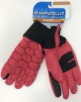 Manzella Traveler Alpha Outdoor Gloves, Women's, Medium, Pink/Black