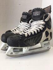 "Vintage CCM Pro Tacks ""Amonte"" Senior size 7 Mens Ice Hockey Skates Pro Stock"