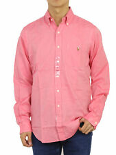 "Polo Ralph Lauren LS Long Sleeve ""Classic"" Chambray Button Down Shirt w/ Pocket"