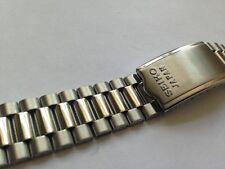 NUOVO Seiko Genuine cinturino in acciaio inox da uomo, 19 mm -- (Ref # SS-11)