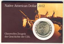 USA - 1 Dollar 2012 - SACAGAWEA - Native AMERICAN - ANSEHEN (10495/912N)