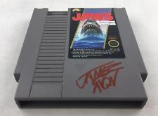 Nintendo (NES) Jaws AVGN James Rolfe Red Autograph Cart