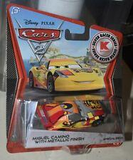 Disney Pixar Cars 2 MIGUEL CAMINO K-Mart SILVER Exclusive Metallic Finish NEW