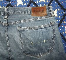 Men's Polo Ralph Lauren Blue Jeans 36 x 34 Gently Used