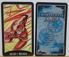 SDCC Comic Con 2015 Exclusive JUSTICE LEAGUE TAROT The Flash Promo Card