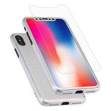 Étuis, housses et coques argentés Pour iPhone X en silicone, caoutchouc, gel pour téléphone mobile et assistant personnel (PDA)