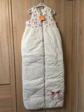 Winter Schlafsack 130 cm NEU Pusblu von DM wattiert mit Wichteln