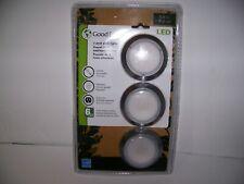 "Good Earth 3 Pack 2.8"" LED Puck Light"