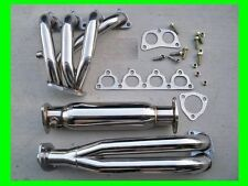 88-00 Honda Civic Del Sol Stainless Steel Header+ High Flow Cat Single Cam SOHC