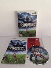 Jeu Wii Xenoblade Chronicles Nintendo Wii Wii U Avec Notice - Envoi Rapide