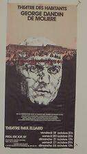 Moliere, George Dandin, Theatre des Habitants, Paris,1973