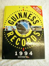 The Guinness Book of Records: 1994 by Guinness World Records Limited...
