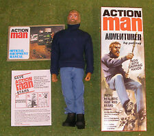 Action Man 40th Boxed Aventurier blonde barbu avec préhension Mains
