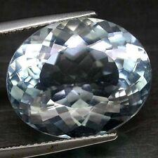 6x4mm Oval-faceta Azul Claro Natural Africano Aguamarina Piedras Preciosas £ 1 Nr!