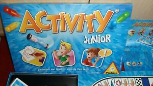 Innen wie neu: Activity Junior  Piatnik Spielmaterial z.Tl. ovp neuwertig TOP