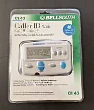 Bellsouth Caller Id with Call Waiting Ci 43- 40 Caller Id Memory