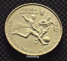 COIN OF POLAND - 2002 FIFA WORLD CUP SOCCER JAPAN KOREA (MINT)
