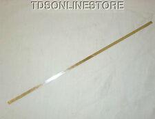 Fine Silver Flat Bezel Wire 3/16 Inch Wide 1 Foot Package 28ga