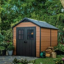 Keter Newton Shed 7.5'x11.5', Storage Capacity: 712 Cubic Ft.