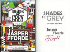 Jasper Fforde SIGNED AUTOGRAPHED Shades of Grey HC 1st Ed/1st NEW Thursday Next