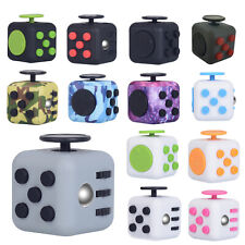 Fidget Cube 3D Focus Stress Reliever Toys Anti-anxiety Colourful Hand Toys Kids