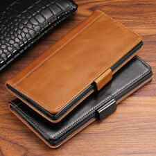 Luxury Genuine Leather Flip Wallet Case Cover For Samsung Note 10 Plus S10 S9 S8
