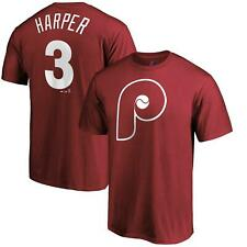 Bryce Harper T-Shirt #3 Philadelphia Phillies Name & Number Tee
