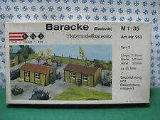 Vintage -  BARACKE  (Baubude)  War World II   - 1/35  Hmb Art. nr. 953  MINT