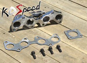 STAINLESS TURBO MANIFOLD CT9 FOR 96-99 TOYOTA STARLET/TERCEL EP82 4E-FTE/4E-FE
