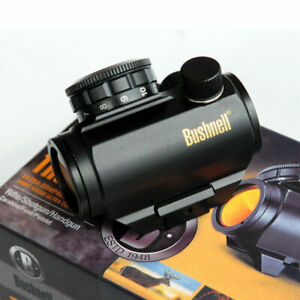 Bushnell TRS 25 Trophy Red Dot Sight Riflescope Black 3 MOA Gold Lettering