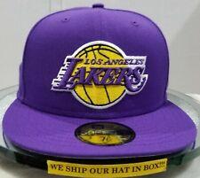 Los Angeles Lakers~NBA~New Era~59FIFTY~Purple OTC~Purple & Yellow