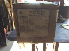 GE Motor #2950,1/15hp,1550rpm,  1 speed, With Warranty