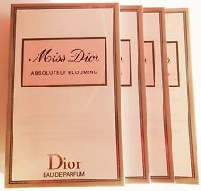Miss Dior Absolutely Blooming Eau de Parfum EDP 4 x 1 ml Spray Proben NEU!