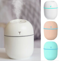 Aroma Essential Oil LED USB Ultrasonic Air Humidifier Diffuser Aromatherapy New!