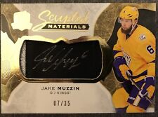 2016 - 2017 UD THE CUP Jake Muzzin SCRIPTED MATERIALS AUTO PATCH/JERSEY #07/35