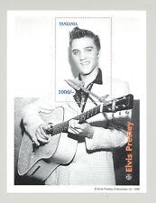 Tanzania 1996 Elvis Presley, Music 1v S/S