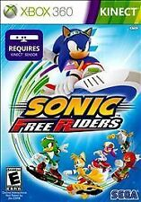 NEW! Sonic Free Riders (Xbox 360 Kinect) BRAND NEW & FACTORY SEALED!!!