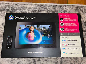HP DreamScreen 100 10.2-inch Wireless Connected Screen Picture Frame In Box