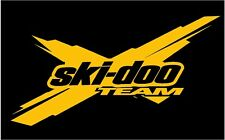 "Ski Doo Team X 12"" Decal Snowmobile Sticker Truck Trailer Renegade Xrs Rev"