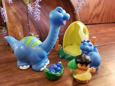 Fisher Price Little People Dino Brontosaurus Vintage Set