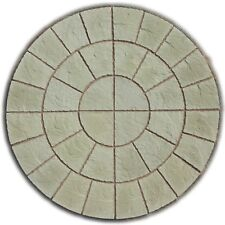 ROTUNDA CIRCLE PAVING PATIO SLABS GARDEN STONE ( DELIVERY NOTE EXCEPTIONS)