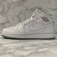 Details about Nike Air Jordan 1 Mid GS Shoes High Top Casual Trainer Gunsmoke 554725 072 show original title