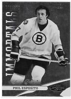 2012-13 CERTIFIED PHIL ESPOSITO IMMORTALS #130 BOSTON BRUINS 770/999