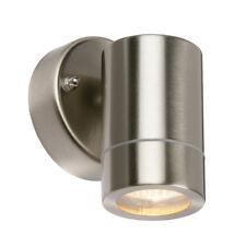 SAXBY PALIN Stainless Steel Outdoor Wall Light GU10 Down Light Lamp IP44 13801